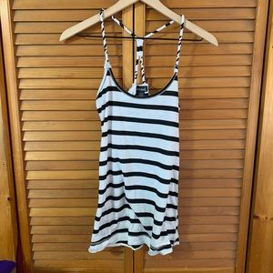 Wet Seal Striped Strappy Tank Top